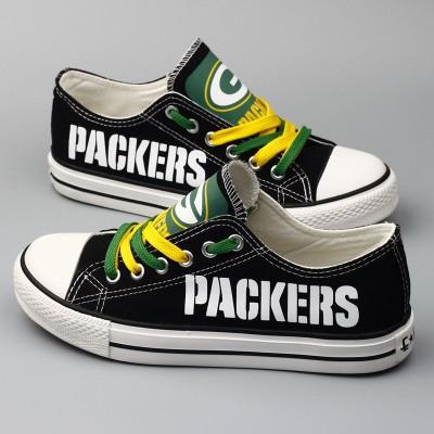 NFL Green Bay Packers Repeat Print Low Top Sneakers