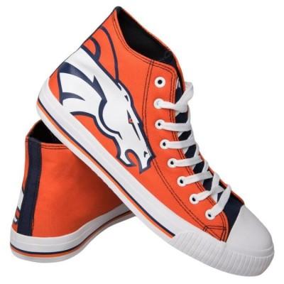 NFL Denver Broncos Repeat Print High Top Sneakers