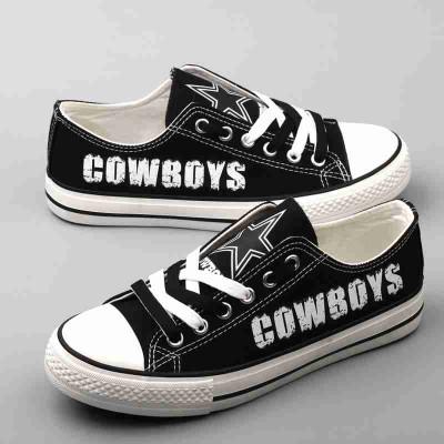 NFL Dallas Cowboys Repeat Print Low Top Sneakers