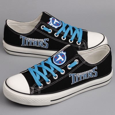 NFL Tennessee Titans Repeat Print High Top Sneakers