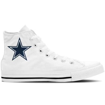 NFL Dallas Cowboys Repeat Print High Top Sneakers 005