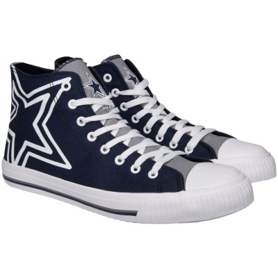 NFL Dallas Cowboys Repeat Print High Top Sneakers 003