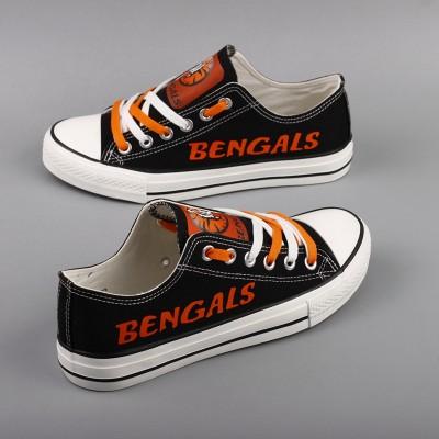 NFL Cincinnati Bengals Repeat Print Low Top Sneakers R