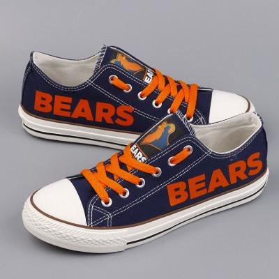 NFL Chicago Bears Repeat Print Low Top Sneakers 002