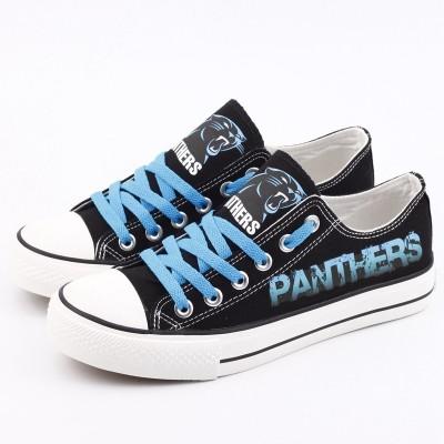 NFL Carolina Panthers Repeat Print Low Top Sneakers 002