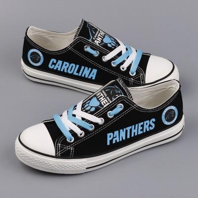 NFL Carolina Panthers Repeat Print Low Top Sneakers