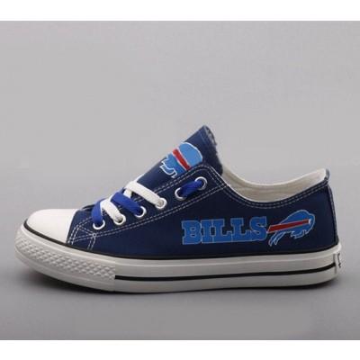 NFL Buffalo Bills Repeat Print Low Top Sneakers 002