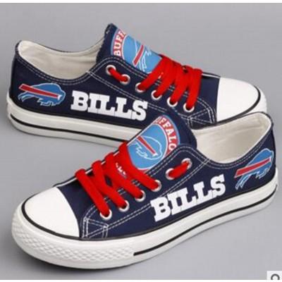 NFL Buffalo Bills Repeat Print Low Top Sneakers