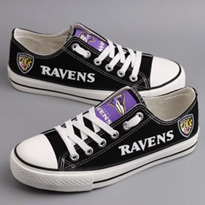 NFL Baltimore Ravens Repeat Print Low Top Sneakers