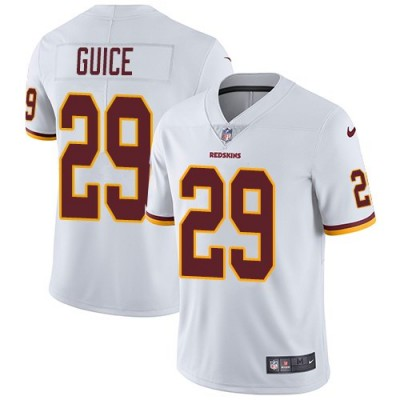Nike Redskins 29 Derrius Guice White Vapor Untouchable Limited Youth Jersey