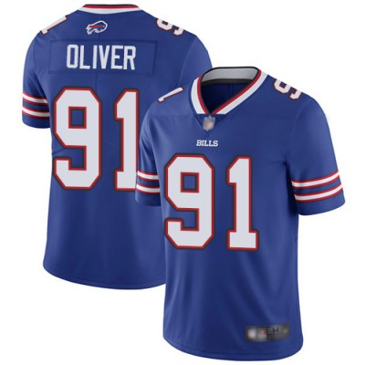 Nike Bills 91 Ed Oliver Royal Vapor Untouchable Limited Youth Jersey