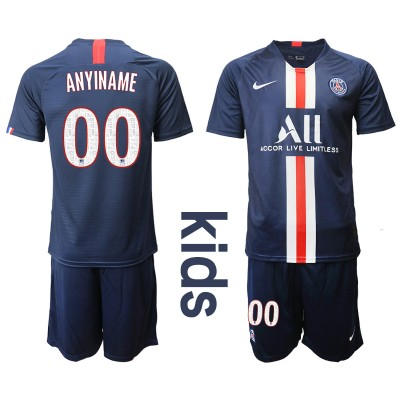 2019-20 Paris Saint-Germain Customized Home Soccer Youth Jersey