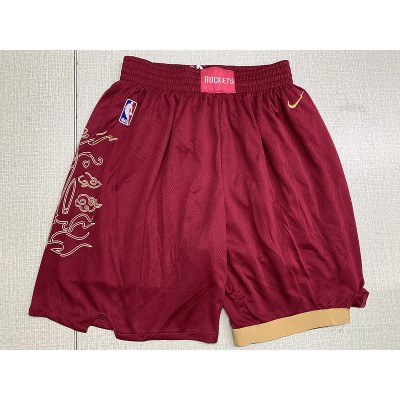Nike Houston Rockets Red City Edition Shorts