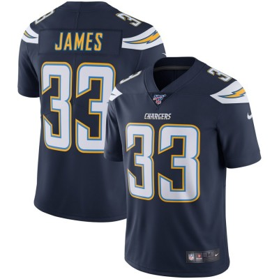 Nike Chargers 33 Derwin James Navy 100th Season Vapor Untouchable Limited Men Jersey