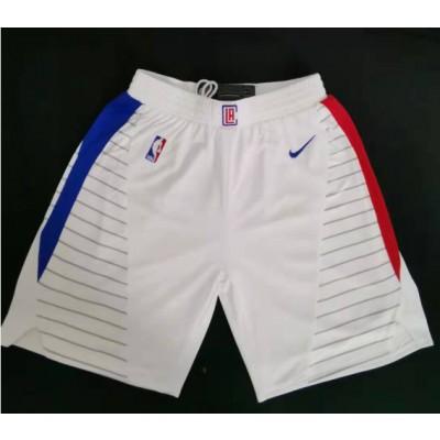 NBA Clippers White Swingman Shorts