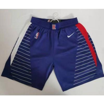 NBA Clippers Blue Swingman Shorts