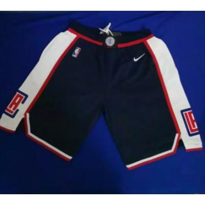 NBA Clippers Black Swingman Shorts