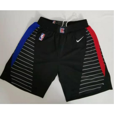 NBA Clippers Black City Edition Swingman Shorts