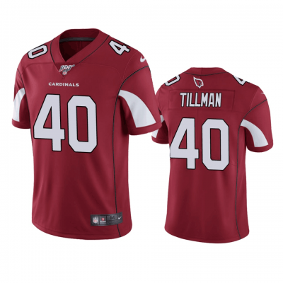 NFL Arizona Cardinals 40 Pat Tillman Red  100th Season Vapor Untouchable Limited  Men Jersey