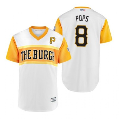MLB Pittsburgh Pirates Willie Stargell Pops 2019 Little League Classic Men Jersey