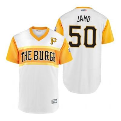 MLB Pittsburgh Pirates 50 Jameson Taillon Jamo 2019 Little League Classic Men Jersey