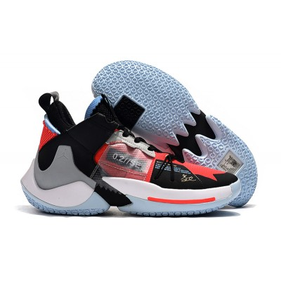 Russell Westbrook II Black Orange Shoes