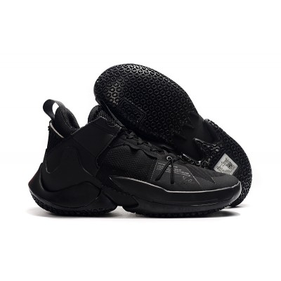 Russell Westbrook  II Black Shoes