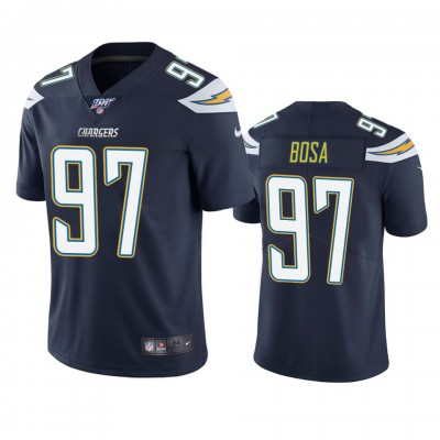 NFL Los Angeles Chargers 97 Joey Bosa Navy  100th Season Vapor Untouchable Limited  Men Jersey