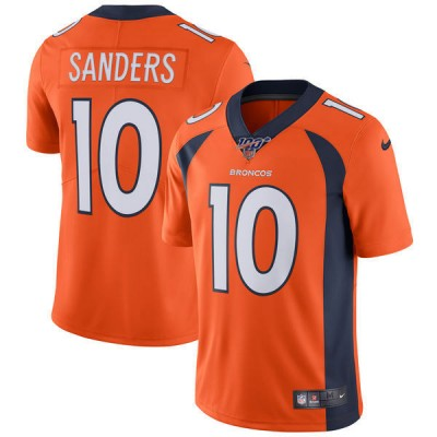 NFL Denver Broncos 100th 10 Emmanuel Sanders Vapor Untouchable Limited Men Jersey