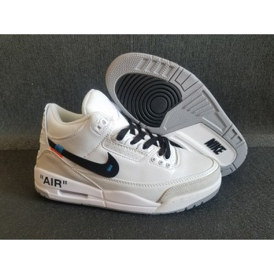 Air Jordan 3 NRG Pure White Shoes