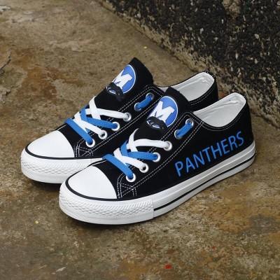 NFL Carolina Panthers Repeat Print Low Top Sneakers 003