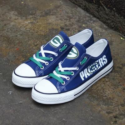 NFL Green Bay Packers Repeat Print Low Top Sneakers 010