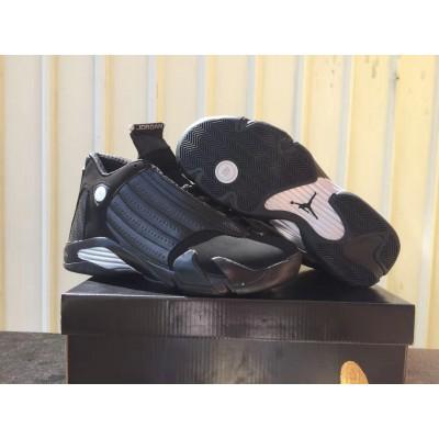 Air Jordan 14 black shoes