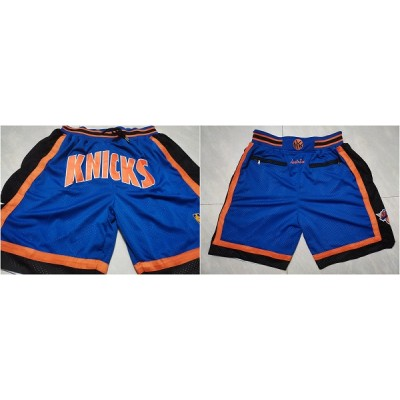 NBA Knicks Blue Just Don Mesh Shorts