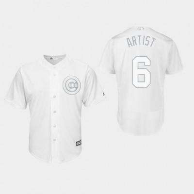 Chicago Cubs 6 Nicholas Castellanos 2019 Players Weekend Player White Men Jersey