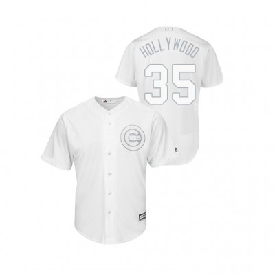 Chicago Cubs 35 Cole Hamels 2019 Players Weekend White Hollywood Men Jersey
