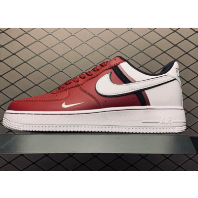 Air Force 1 Red White Shoes