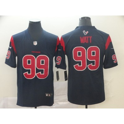 Nike Houston Texans 99 J.J. Watt Navy Color Rush Limited Men New Jersey
