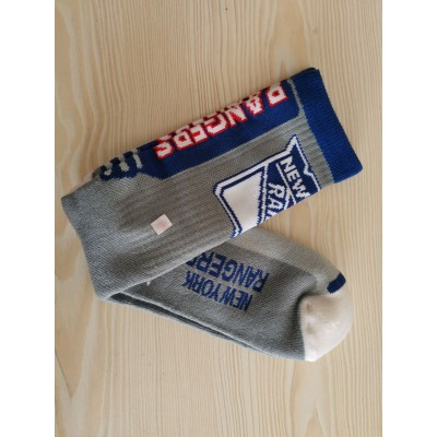 New York Islanders Team Logo Gray NHL Socks