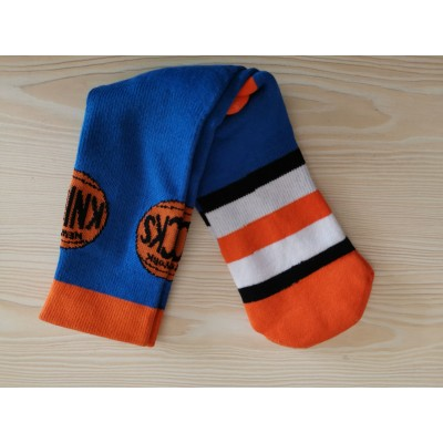 New York Knicks Team Logo Blue NBA Socks