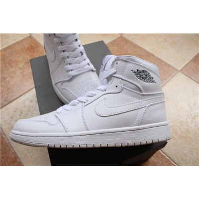 Air Jordan 1 Retro White Shoes