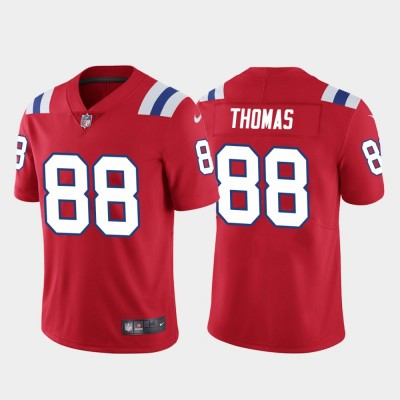 New England Patriots 88 Demaryius Thomas Red Vapor Untouchable Limited Men Jersey
