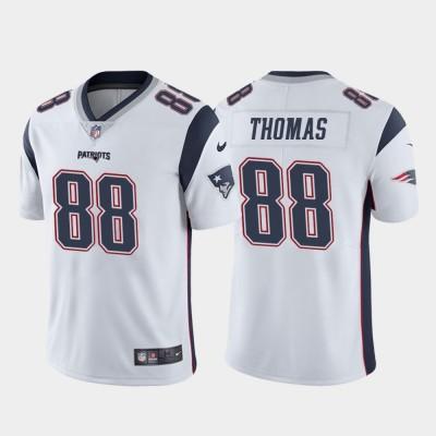 Nike New England Patriots 88 Demaryius Thomas White Vapor Untouchable Limited Men Jersey