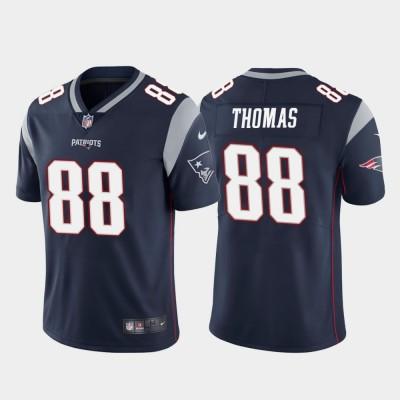 Nike New England Patriots 88 Demaryius Thomas Navy Vapor Untouchable Limited Men Jersey