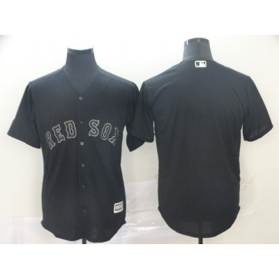 MLB Red Sox Blank Black 2019 Players' Weekend Player Men Jersey