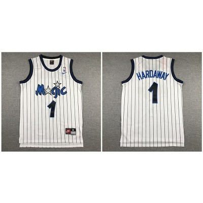 Magic 1 Anfernee Hardaway White Nike Swingman Jersey