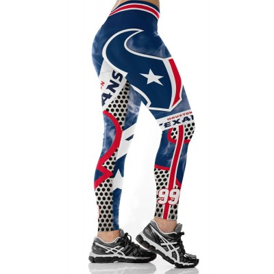 NFL Houston Texans Women Leggings 1