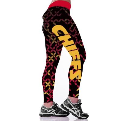 NFL Kansas City Chiefs Women Leggings 2
