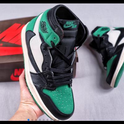 Air Jordan 1 Green Shoes