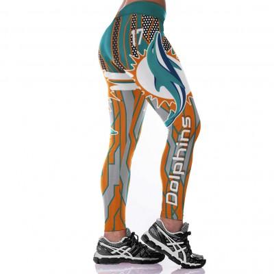 NFL Miami Dolphins Women Leggings 2